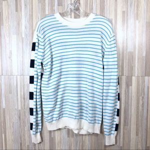 Cashmere Stripes Long Sleeve Sweater